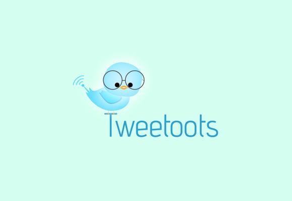 Twitter Inspired Logo 17