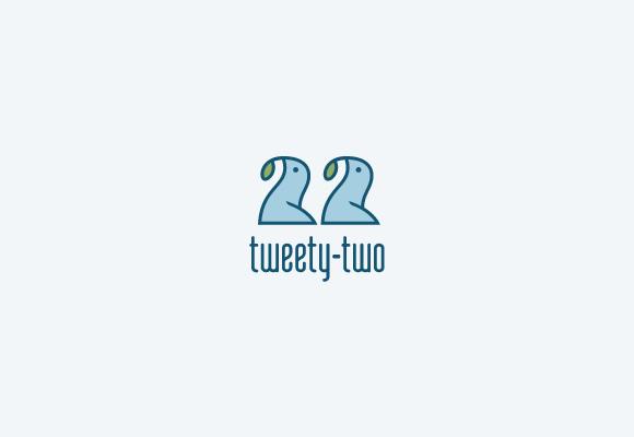 Twitter Inspired Logo 22