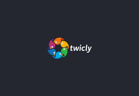 Twitter Inspired Logo 24