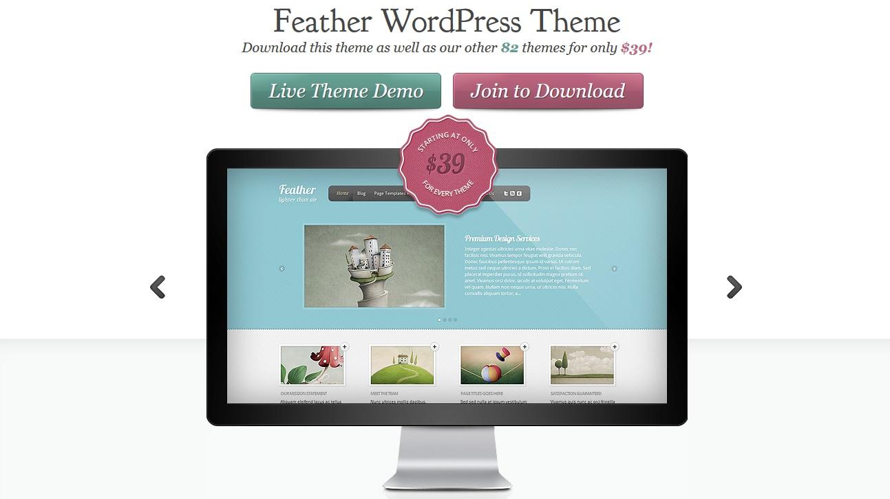 Feather Wordpress