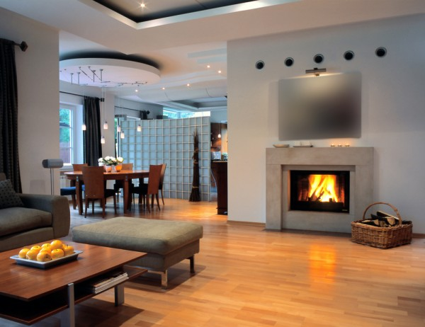 Traditional and Modern Interior Design Fireplace Ideas