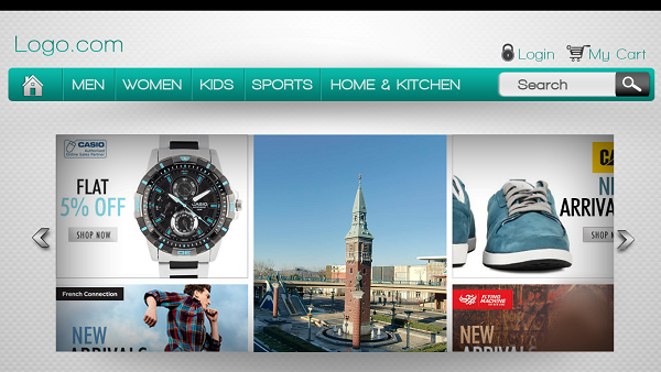 designing an impressive ecommerce header in a photoshop is not easy task but with the below