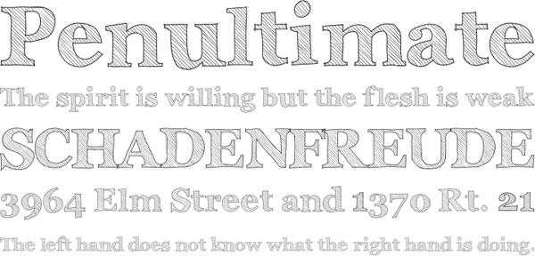 Archistico font