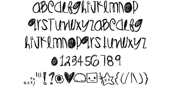 DiamondsPearls font