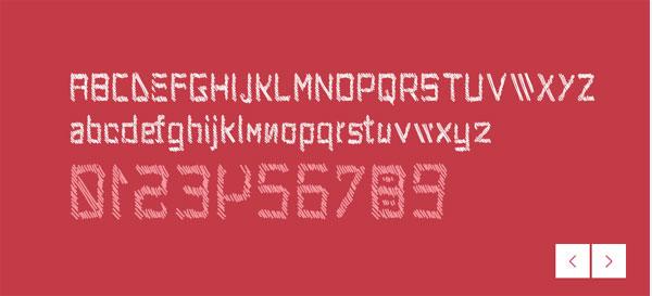 Kancell font