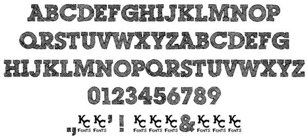 Scribble Box font