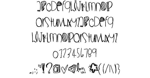 Superwoman font