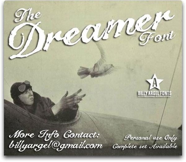 The-Dreamer font