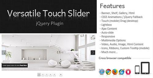 Versatile Touch Slider