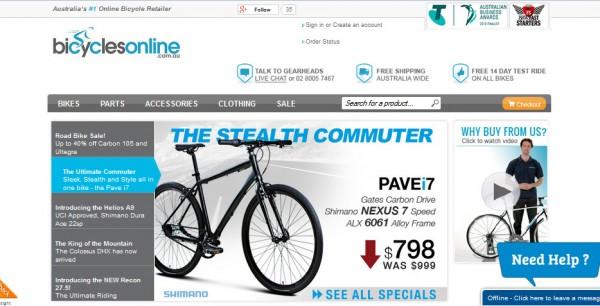 bicyclesonline
