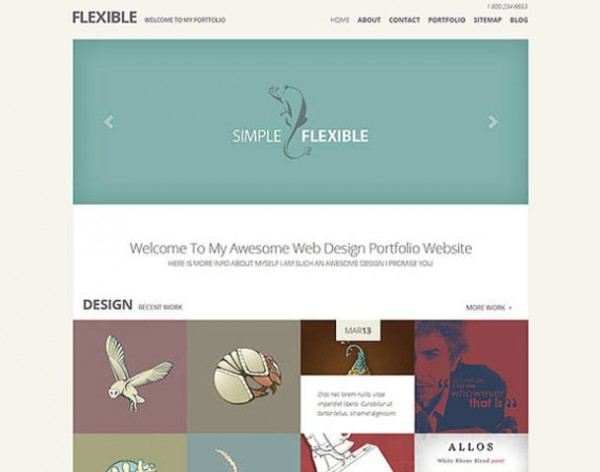 flexible wordpress