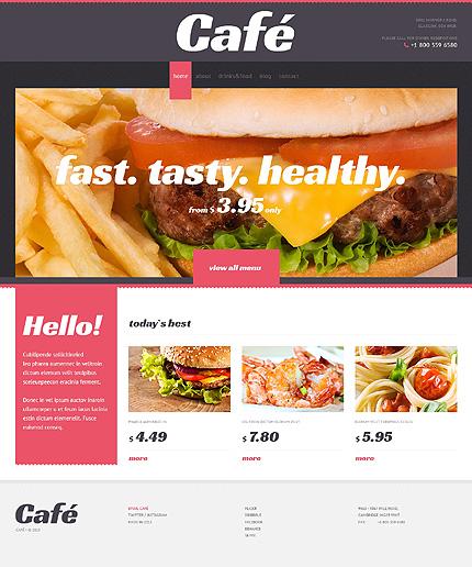 Café With Elegant View WordPress Theme