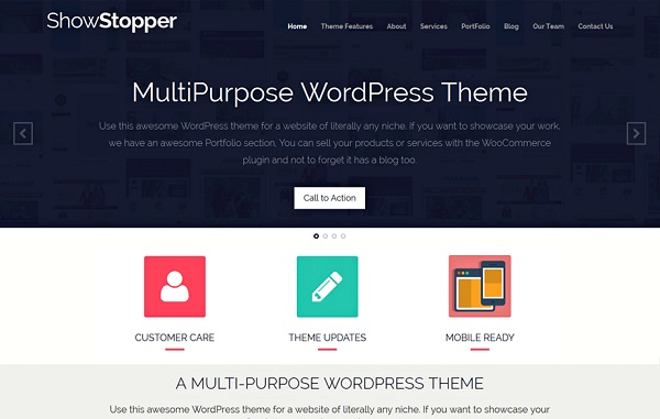 showstopper theme