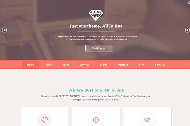 25+ Great wordpress themes with Parallax Scrolling