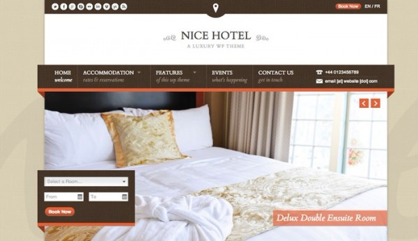 Nice Hotel Theme