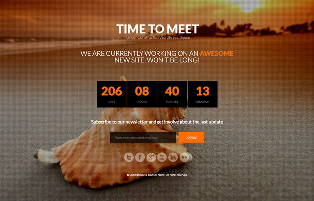 time-to-meet-under-construction-wordpress-theme