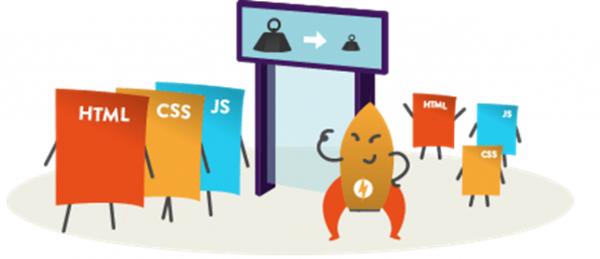 minify css, html