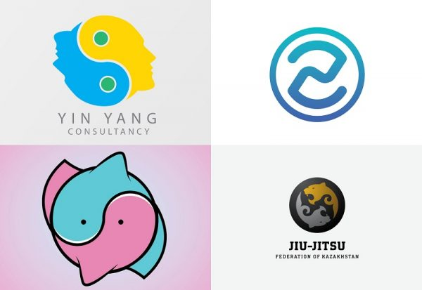 10 logo design trends for 2018 rh skyje com Yin Yang Symbol Meaning yin yang graphic design