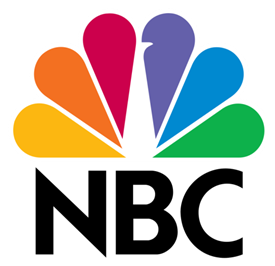 The iconic logo of NBC