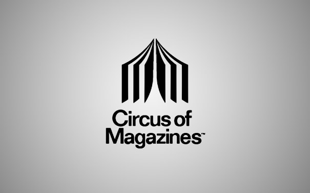 Circus of Magazines — two-in-one symbolism